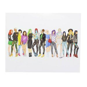 X-Women StreetStyle 8x10 Exclusive Collector Print